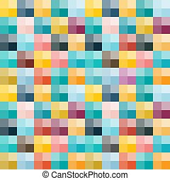 Vector Illustration. Seamless Background with Colorful...