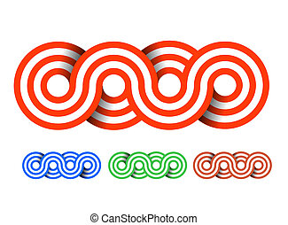 Seamless circle pattern design