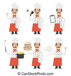 Set characters chef
