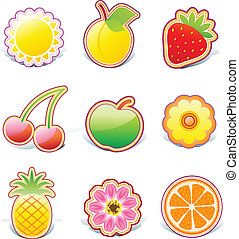 fruity design elements