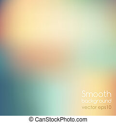 Smooth colorful background - Vector illustration Smooth...