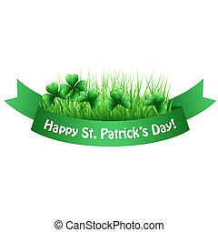 Vector illustration St. Patrick's banner