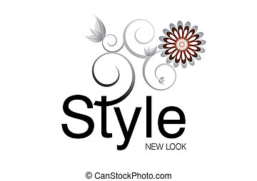 Vector illustration - Style Logo for Art and fashion...