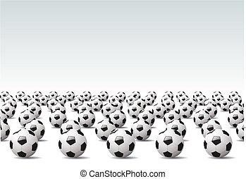 Soccer - Vector illustration %u2013 sport background, Soccer...