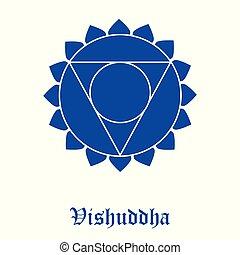 Vishuddha Chakra symbol