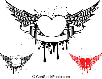 wings and heart