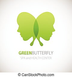 Butterfly symbol.