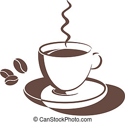 vector illustrations - coffee cup