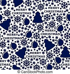 Merry Christmas pattern seamless