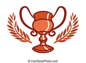 Vector illustrations of the goblet