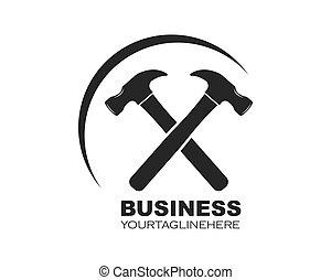 vector, ilustración, logotipo, icono, diseño, hummer