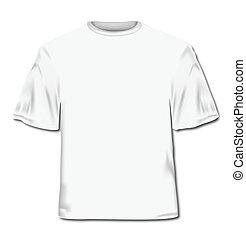 vector, ilustración, t-shirt.