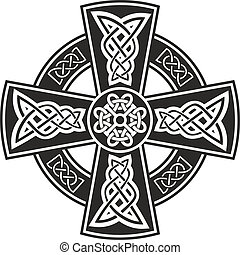 Vector image Celtic cross
