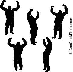 gorilla silhouette - Vector Image - gorilla silhouette,...