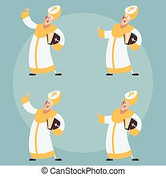 Set of Catolic Popes