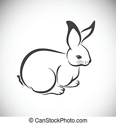 Vector image of an rabbit