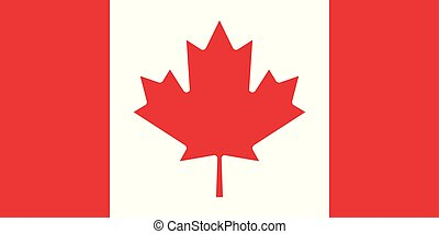 Vector Image of Canada Flag
