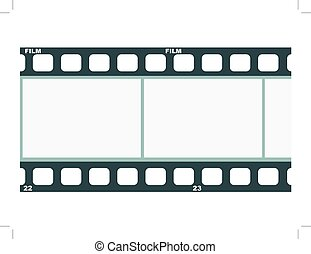 vector image of film strip