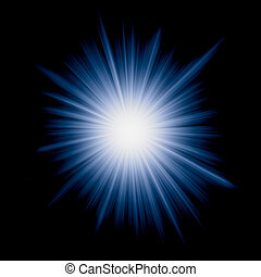 vector image of starburst