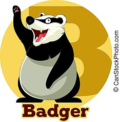 ABC Cartoon Badger
