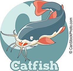 ABC Cartoon Catfish