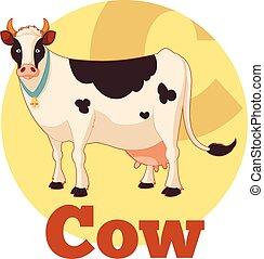 ABC Cartoon Cow