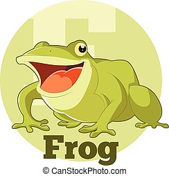 ABC Cartoon Frog