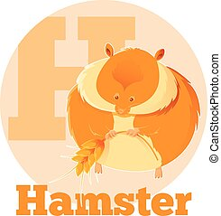 ABC Cartoon Hamster