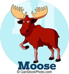 ABC Cartoon Moose