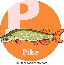 ABC Cartoon Pike