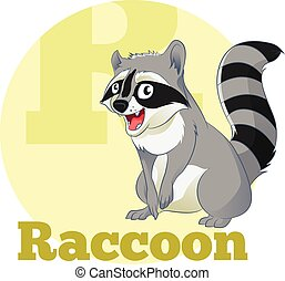 ABC Cartoon Raccoon
