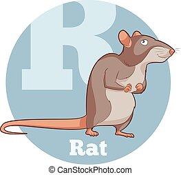 ABC Cartoon Rat