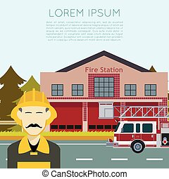 Fire Station Banner