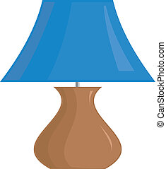 Vector image of the lamp shade.