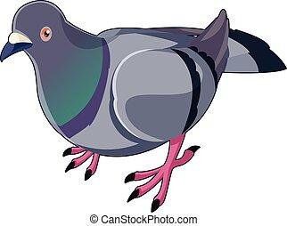 Pigeon isometric icon