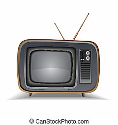 Vector image of the TV.