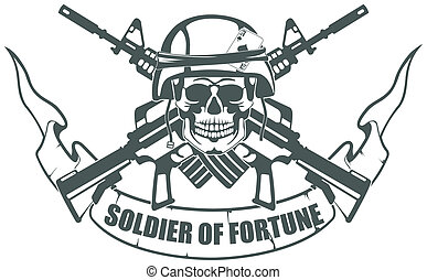 Soldier of Fortune - vector image Soldier of Fortune