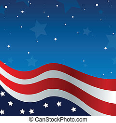 Vector Independence day background - 4th of july background...