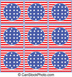 independence day seamless pattern