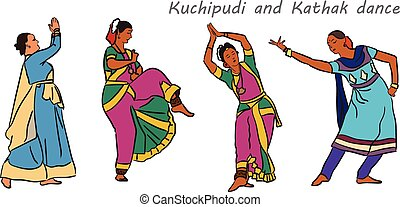 Kuchipudi clip art vector graphics 50 kuchipudi eps clipart vector indian dancers isolated indian kuchipudi and kathak vector indian dancers clipart sciox Choice Image