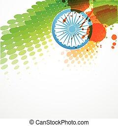 vector indian flag design