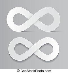 Vector Infinity Symbols