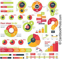 Vector infographic elements