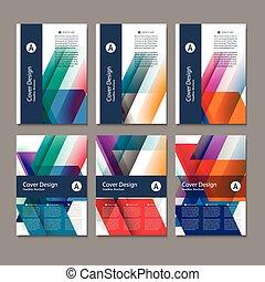 vector, informatieboekje , flyer, ontwerp, opmaak, mal,...