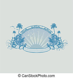 tropical ocean coast