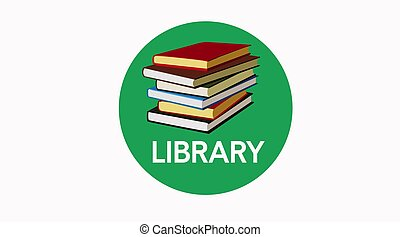 Library Sign Icon
