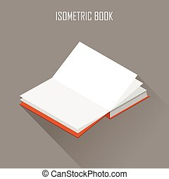 Vector isometric book