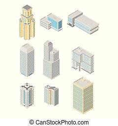 Vector isometric city