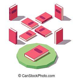 Vector Isometric Classic book