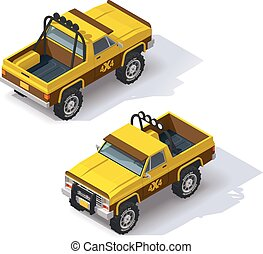 Vector isometric pickup